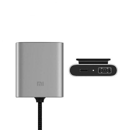 Udlinitel Dlya Xiaomi Car Charger Qc 3 0 Usb A Usb C Ccpj01zm 3