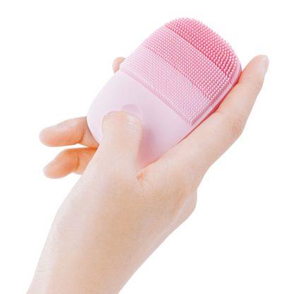 Apparat Dlya Ultrazvukovoj Chistki Licza Xiaomi Inface Electronic Sonic Beauty Facial Pink 3