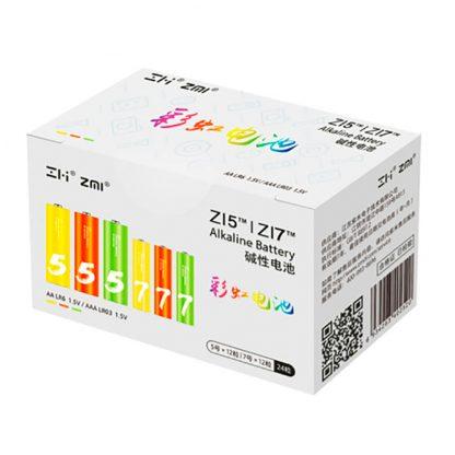 Batarejki Alkalinovye Xiaomi Zmi Rainbow Zi5aa Zi7aaa 12 12 Sht Al24 1