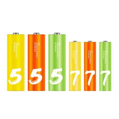 Batarejki Alkalinovye Xiaomi Zmi Rainbow Zi5aa Zi7aaa 12 12 Sht Al24 2