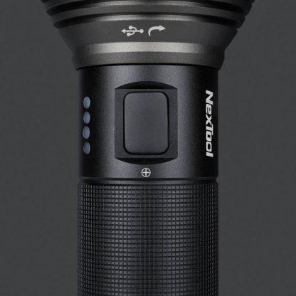Fonarik Xiaomi Nextool Nato Outdoor Glare Flashlight Chernyj 6061 T6 4