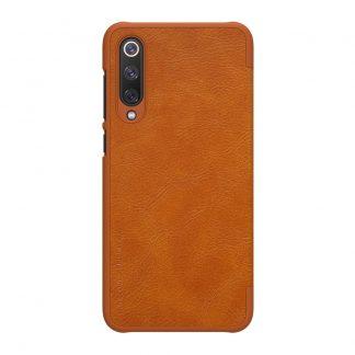 Knizhka Nillkin Qin Leather Xiaomi Mi 9 Se Korichnevyj 1