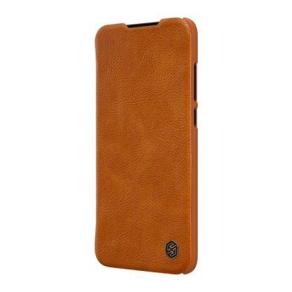 Knizhka Nillkin Qin Leather Xiaomi Mi A3 Korichnevyj 3