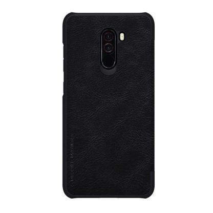 Knizhka Nillkin Qin Leather Xiaomi Pocophone F1 Chernyj 1