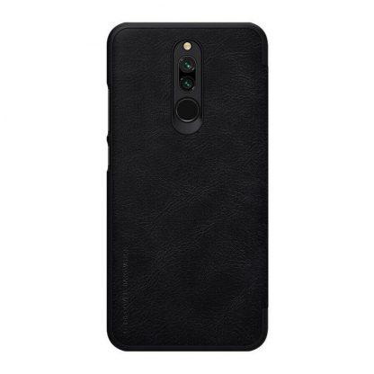 Knizhka Nillkin Qin Leather Xiaomi Redmi 8 Chernyj 1