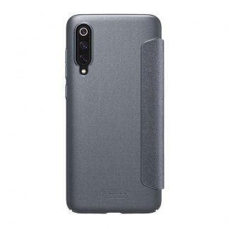 Knizhka Nillkin Sparkle Leather Xiaomi Redmi Mi9 Chernyj 1