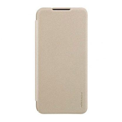 Knizhka Nillkin Sparkle Leather Xiaomi Redmi Note 7 Zolotistyj 2