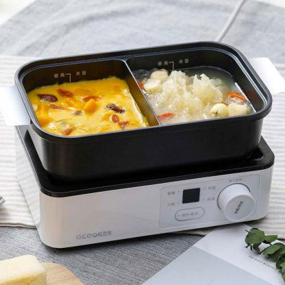 Multifunkczionalnaya Plita Qcooker Kitchen Mini Lunch Machine Cr Tc01 2