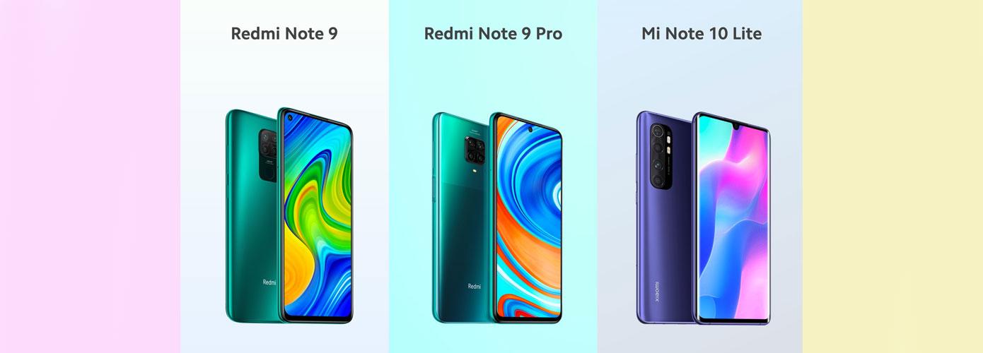 News Novaya Prezentacziya Xiaomi Redmi Note 9 Redmi Note 9 Pro I Mi Note 10 Lite 1
