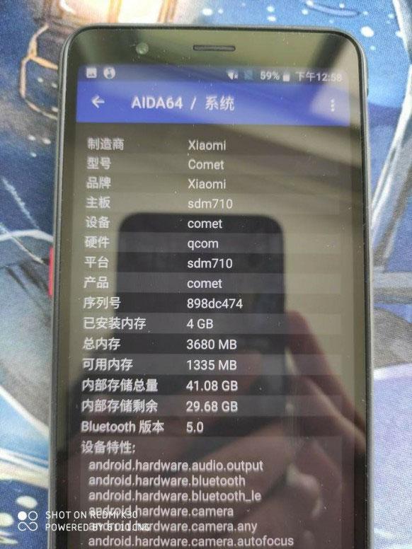 News Xiaomi Comet Novyj Smartfon Kompanii 6
