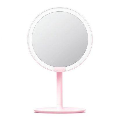 Zerkalo Dlya Makiyazha Xiaomi Amiro Lux High Color Pink 1