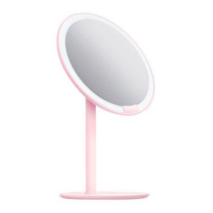 Zerkalo Dlya Makiyazha Xiaomi Amiro Lux High Color Pink 2
