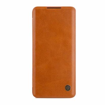 Knizhka Nillkin Qin Leather Xiaomi Note 10 Lite Korichnevyj 22