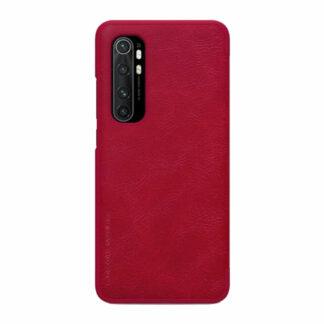 Knizhka Nillkin Qin Leather Xiaomi Note 10 Lite Krasnyj 11