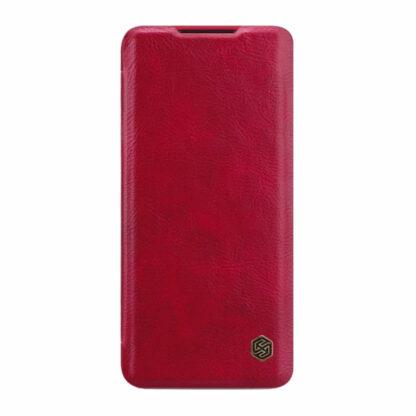 Knizhka Nillkin Qin Leather Xiaomi Note 10 Lite Krasnyj 22