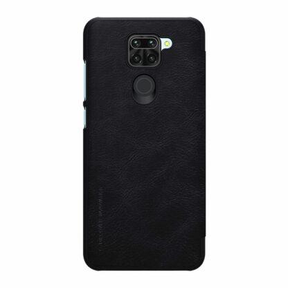 Knizhka Nillkin Qin Leather Xiaomi Redmi Note 9 Chernyj 1