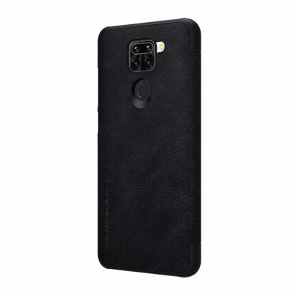 Knizhka Nillkin Qin Leather Xiaomi Redmi Note 9 Chernyj 3