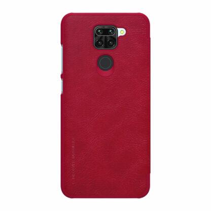 Knizhka Nillkin Qin Leather Xiaomi Redmi Note 9 Krasnyj 1