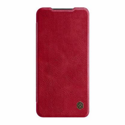 Knizhka Nillkin Qin Leather Xiaomi Redmi Note 9 Krasnyj 2