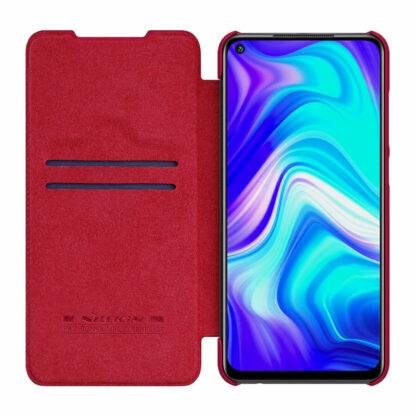 Knizhka Nillkin Qin Leather Xiaomi Redmi Note 9 Krasnyj 3