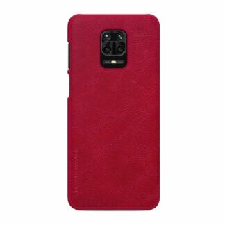 Knizhka Nillkin Qin Leather Xiaomi Redmi Note 9s 9 Pro Krasnyj 1