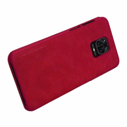 Knizhka Nillkin Qin Leather Xiaomi Redmi Note 9s 9 Pro Krasnyj 3