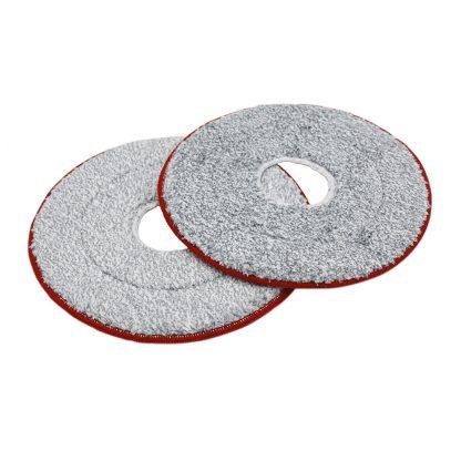 Nasadka Dlya Shvabry Yijie Disposable Mop Replacement Yd 02 Red Gray Cloth 2pcs 2