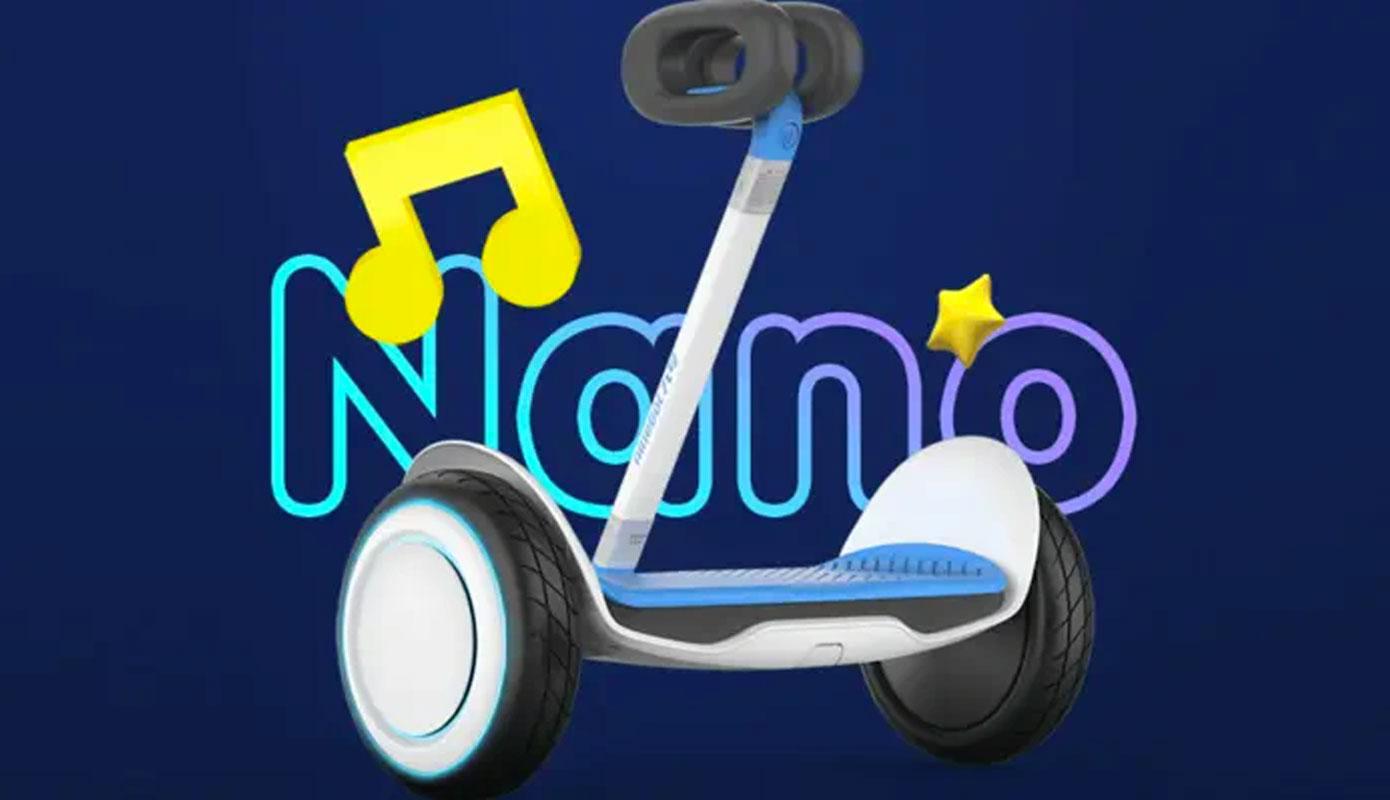 News Xiaomi Vypuskaet Detskij Giroskuter Ninebot Nano 1