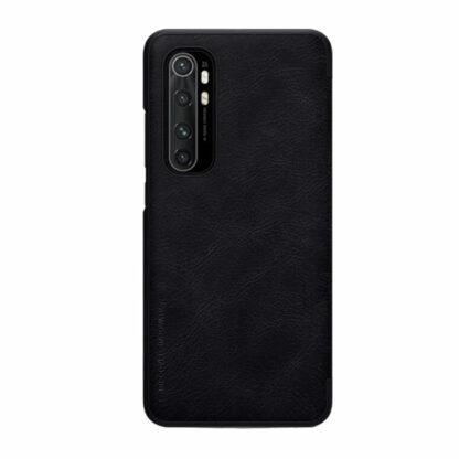 Knizhka Nillkin Qin Leather Xiaomi Note 10 Lite Chernyj 111