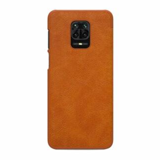 Knizhka Nillkin Qin Leather Xiaomi Redmi Note 9s 9 Pro Korichnevyj 1