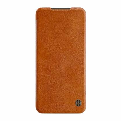 Knizhka Nillkin Qin Leather Xiaomi Redmi Note 9s 9 Pro Korichnevyj 2
