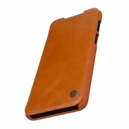 Knizhka Nillkin Qin Leather Xiaomi Redmi Note 9s 9 Pro Korichnevyj 3