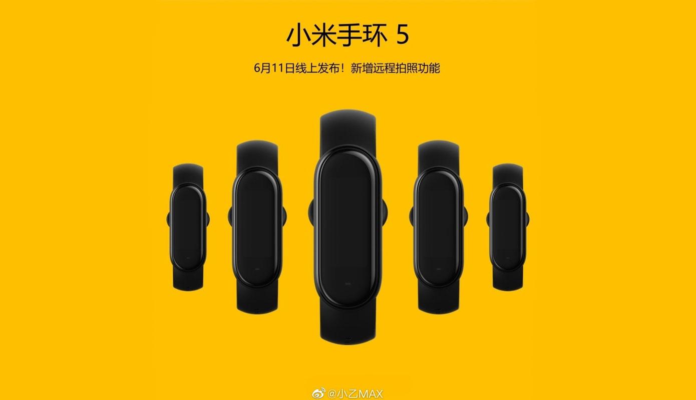 News Mi Band 5 Predstavyat 11 Iyunya 2