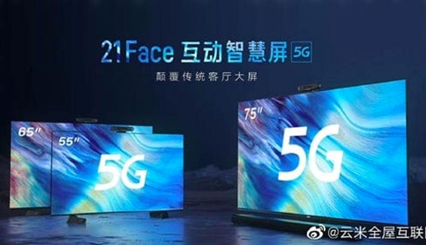 News Viomi 21face Smart Screen Televizor S Podderzhkoj 5g 1