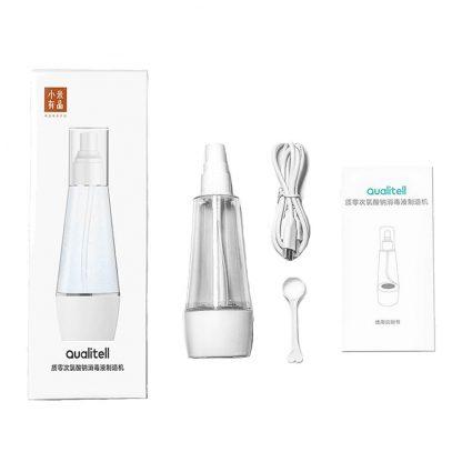 Ustrojstvo Dlya Proizvodstva Dezinficziruyushhego Gipohlorita Natriya Xiaomi Qualitell Sodium Hypochlorite Disinfectant Maker 3