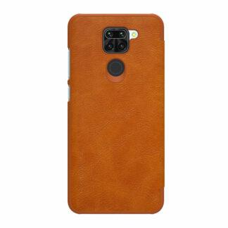 Knizhka Nillkin Qin Leather Xiaomi Redmi Note 9 Korichnevyj 1