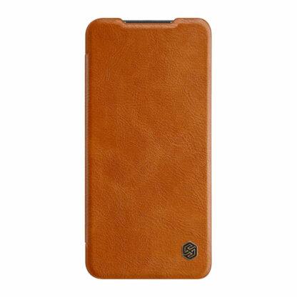 Knizhka Nillkin Qin Leather Xiaomi Redmi Note 9 Korichnevyj 2