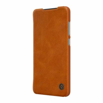 Knizhka Nillkin Qin Leather Xiaomi Redmi Note 9 Korichnevyj 3