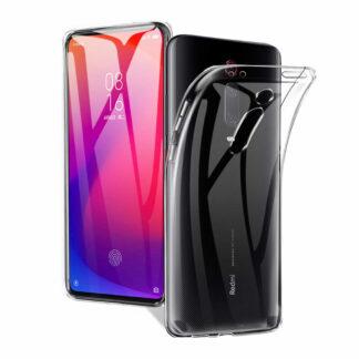 Nakladka Silikonovaya Dlya Xiaomi Mi9 T Prozrachnyj 1