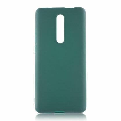 Nakladka Silikonovaya Dlya Xiaomi Mi9 T Zelenyj 1