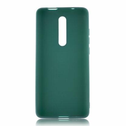Nakladka Silikonovaya Dlya Xiaomi Mi9 T Zelenyj 2
