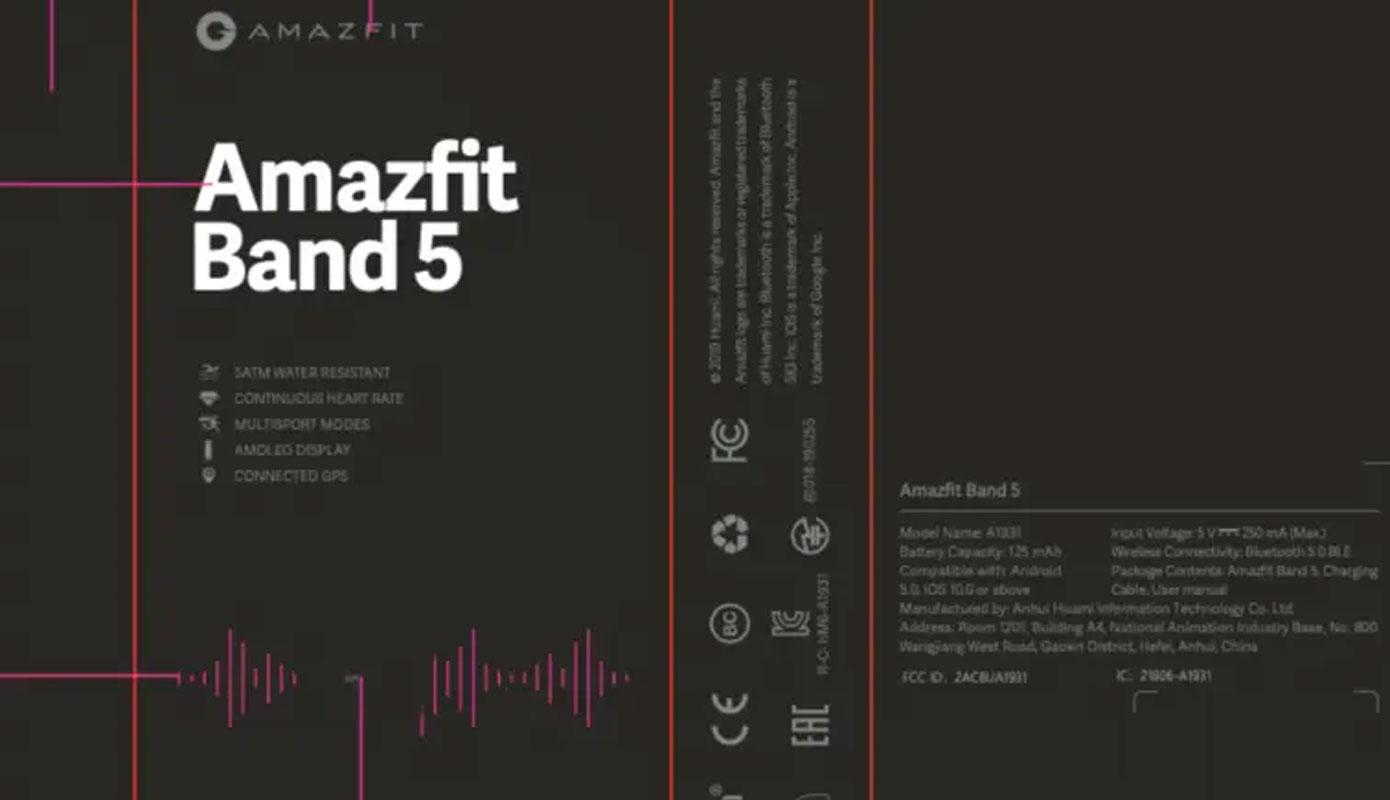News Amazfit Band 5 Pryamoj Konkurent Mi Band 5 1