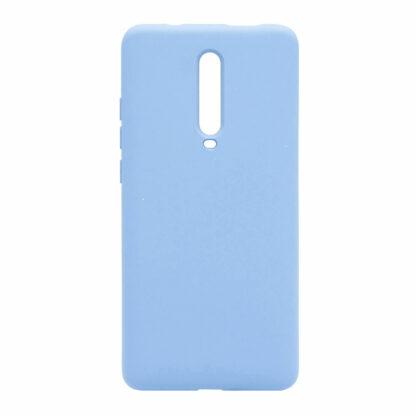 Nakladka Silikonovaya Dlya Xiaomi Mi9 T Goluboj 1