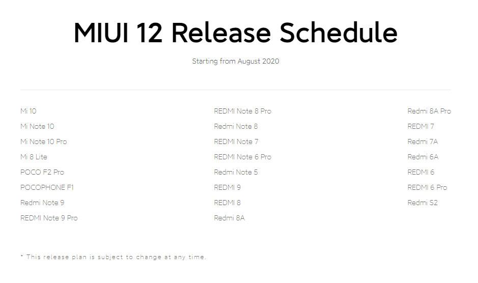News 23 Smartfona Xiaomi Poluchat Miui 12 Uzhe V Avguste 2
