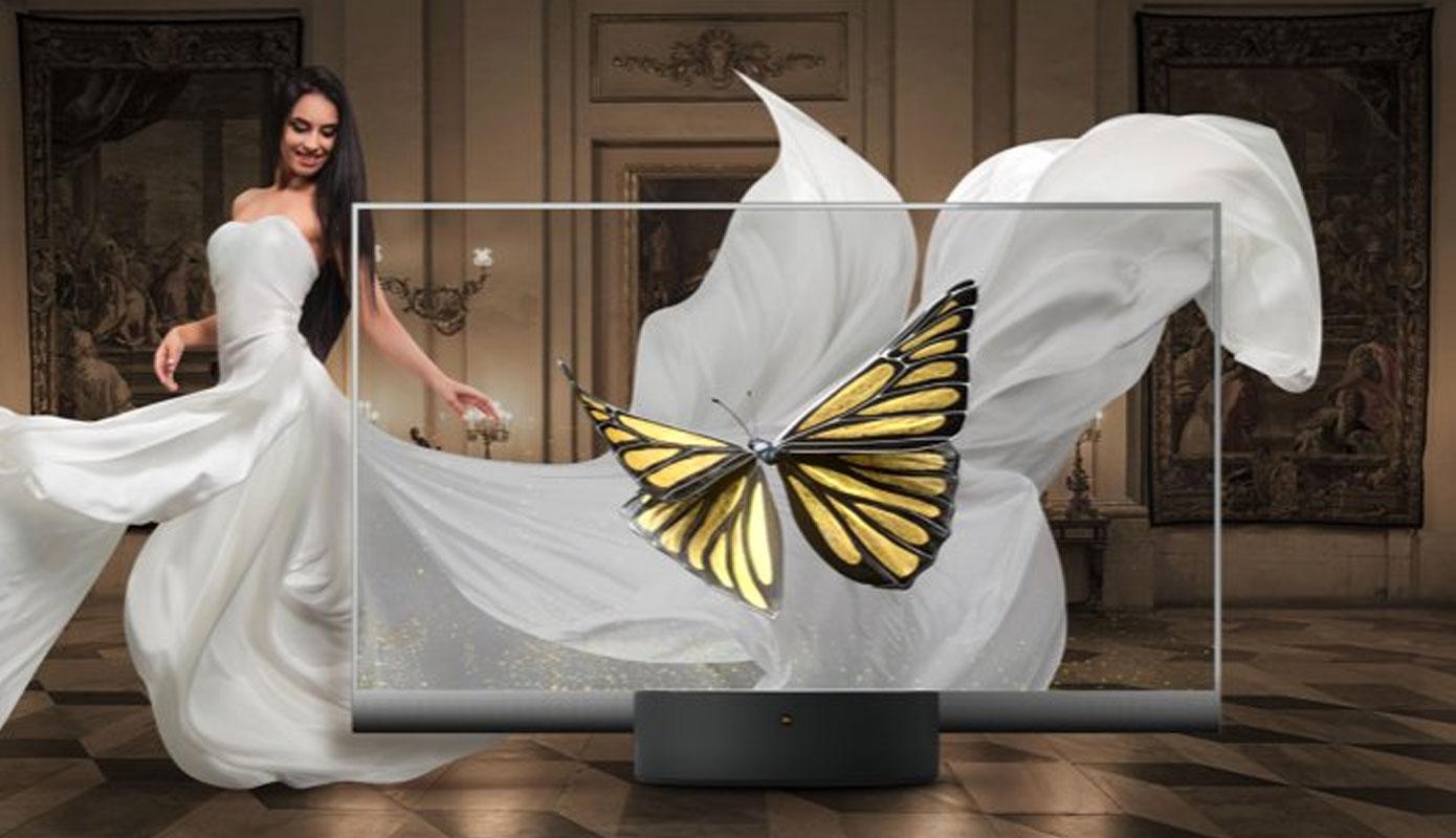 News Predstavlen Neveroyatnyj Mi Tv Lux Transparent Edition 1