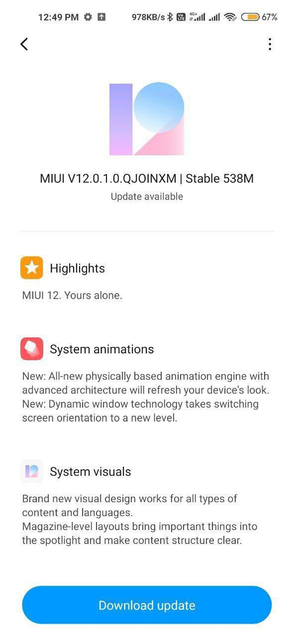 News Xiaomi Vypuskaet Obnovlenie Miui Dlya Redmi Note 9 2