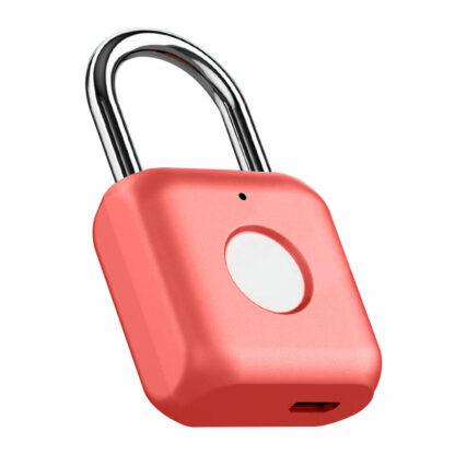 Umnyj Zamok Uodi Smart Fingerprint Padlock Yd K1 Krasnyj 2