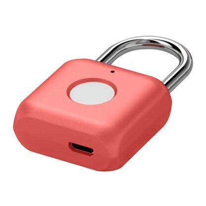 Umnyj Zamok Uodi Smart Fingerprint Padlock Yd K1 Krasnyj 3