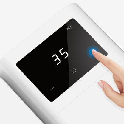 Ventilyator S Raspyleniem Vody Kondiczioner Microhoo Snowman Lite Personal Air Cooler Mho1r 3