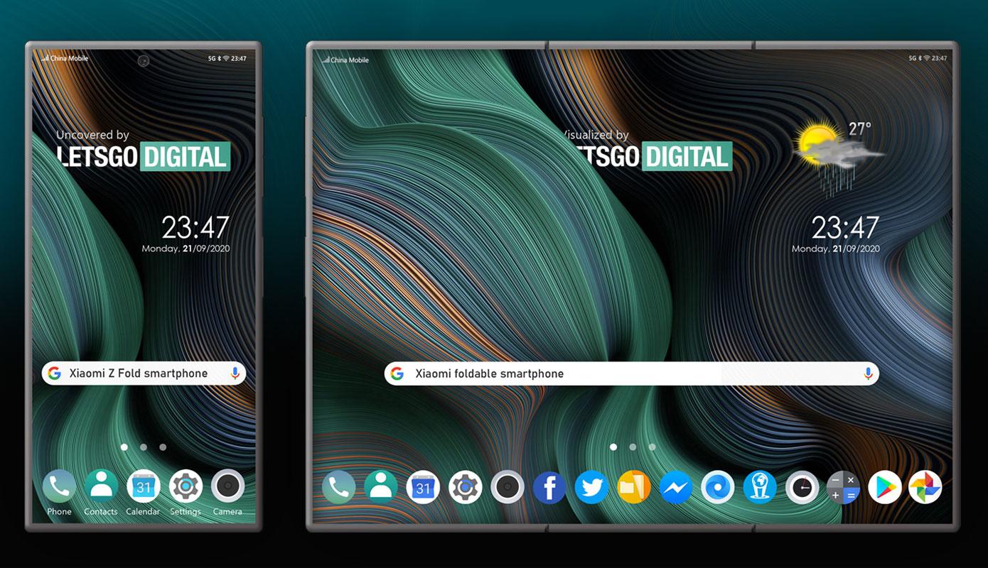 News Xiaomi Z Fold Novyj Patent Na Skladnoj Smartfon 1